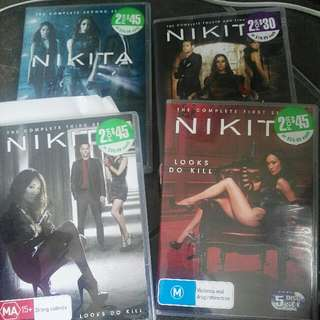 Nikita Seasons 1-4