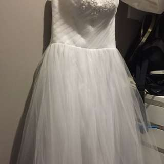 Deb or wedding dress