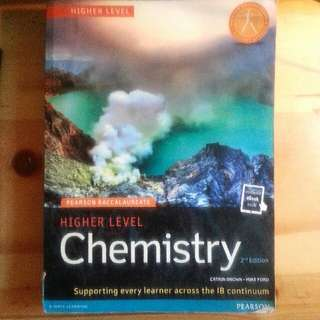 IB Higher Level Chemistry (Pearson 2nd ed.)