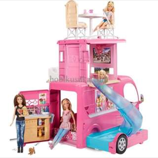 #jualmainan Barbie Pop-up Camper PO.7 Hari