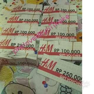 Voucher H &M Only 69.000 Pik Avennue
