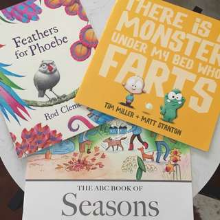 Set Of 3 Big Teacher Books