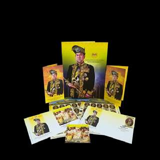 First Day Cover - Pertabalan Seri Paduka Yang Di-Pertuan Agong XV - Sultan Muhammad V