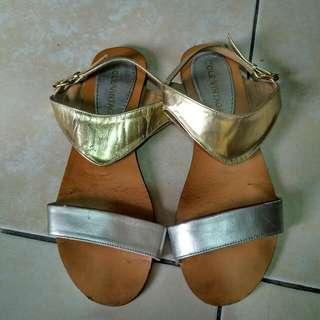 Cole Vintage Gold Sandals