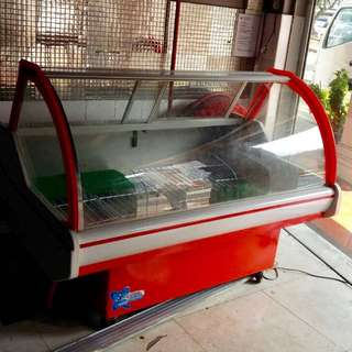 Glass Display Chiller For Cakes Display
