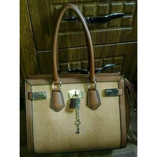 ALDO Office Bag In Tan