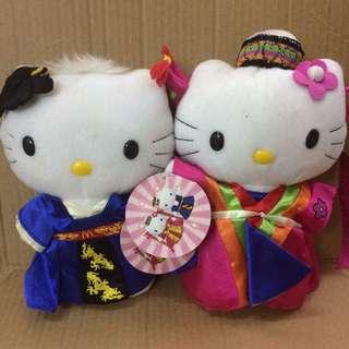 出售Hello Kitty(韓式)新婚公仔一對