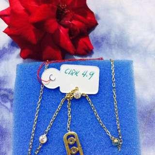 Necklace 18k Saudi Gold