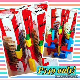JENGA Blocks (Buy 2 Take 2)