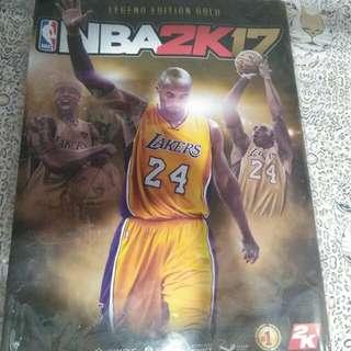 NBA2k17 Kobe Bryant Poster