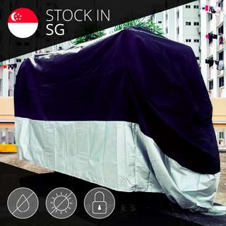 Bike Cover / 210D Oxford Nylon Waterproof Motorcycle Cover