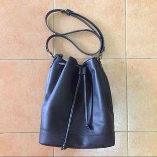Breshka Black Bucket Bag