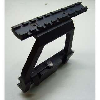 Rail mounting for Nerf / WBB AK74