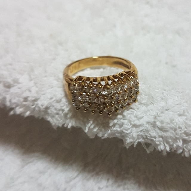 New 14K HGE Lind Ring, Preloved Women's Fashion, Jewelry on Carousell GK24