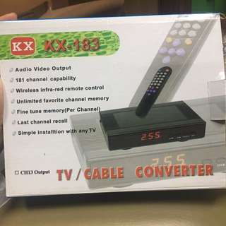 TV/ cable Converter