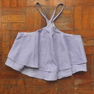 Halter Cropped Top