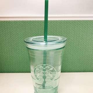Starbursts 經典透明冰杯附吸管