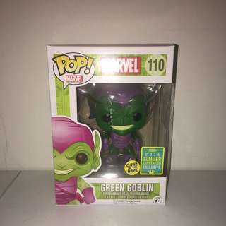 Pop Vinyl - Marvel (110) - Green Goblin GITD - 2016 Summer Convention Exclusive