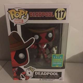 Pop Vinyl - Deadpool (117) - Deadpool - 2016 Summer Convention Exclusive