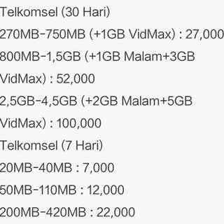 Kuota Telkomsel