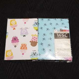 W&SC 40-Leaves Mini-Notebook Set 🆕️