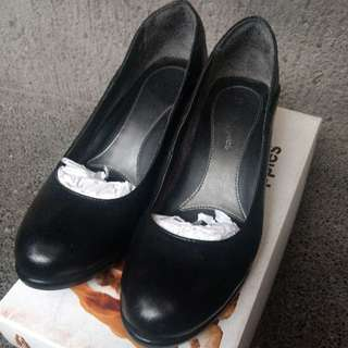 Hush Puppies - Black Pumps Heels