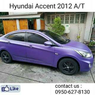 2012 Hyundai Accent A/T