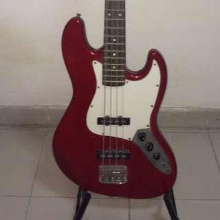 one SX Bass guitar