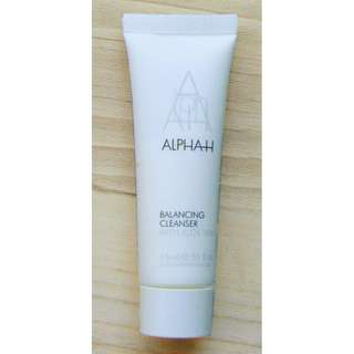 Alpha H Balancing Cleanser With Aloe Vera 15ml Travel Size BRAND NEW & AUTHENTIC