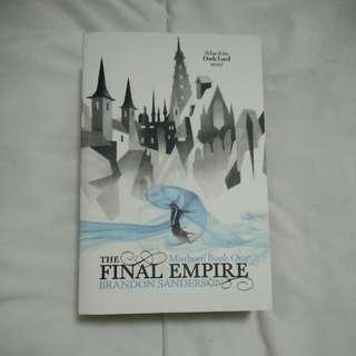 Mistborn: The Final Empire (Book 1) by Brandon Sanderson