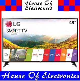 LG Electronics 49LJ550T 49-Inch 1080p FULL HD Smart LED TV (2017 Model) . 1 Year Warranty. PSB Safety Mark Approved