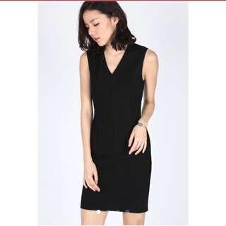 LF Edessa bodycon Dress In Black Size S