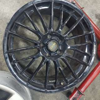 18 INCH DOTZ RIMS ONLY FOR VW SCIROCCO