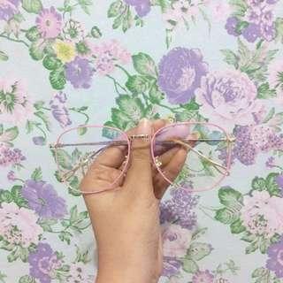 Pink Vintage Glasses
