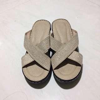 Parisian Beige Sandals