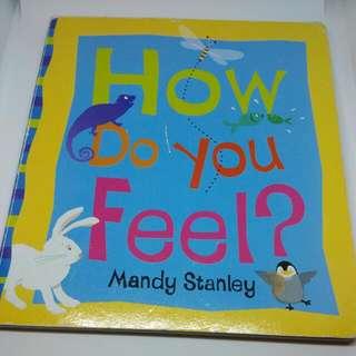 幼兒硬皮書 認識感覺
