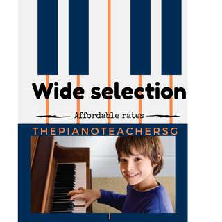 Wide Selection of Piano Teacher Directory