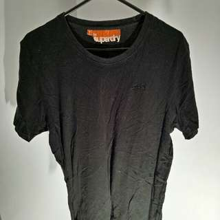 Black Superdry Tshirt