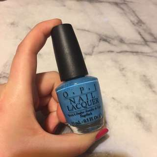 OPI Nail Polish - Colour: No Room For The Blues
