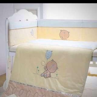 🚚 嬰兒床圍