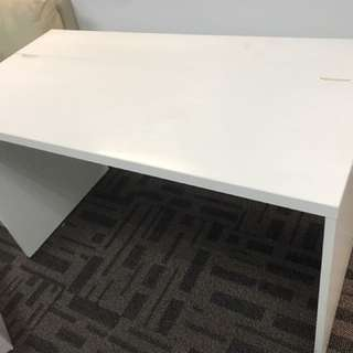 White 120x60 Computer Work Table