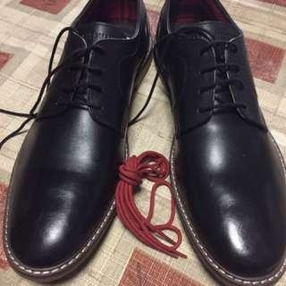 Ben Sherman Men's Formal Black Leather Shoes