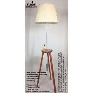 Tripod - Standing Lamp Hias Dekorasi