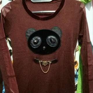Baju Motif Bear