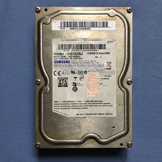 Samsung 1tb HDD