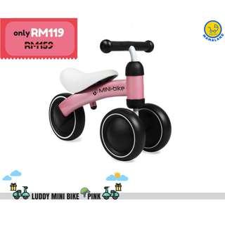 Baby Walker Balance Bike (Pink)
