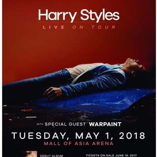 NEED HARRY STYLES PLATINUM MANILA