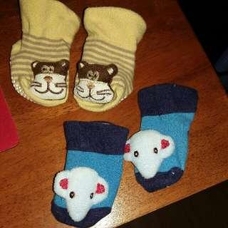 2 Pairs Baby Socks