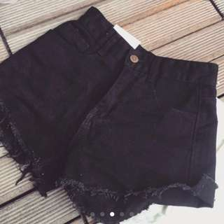 [INSTOCKS] Ulzzang Highwaisted Denim Shorts