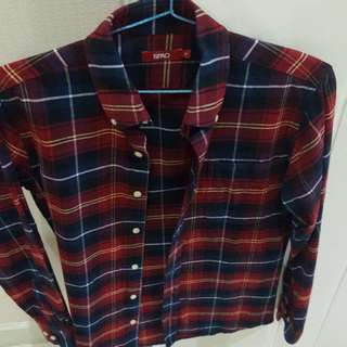 Men Shirt Merk SPAO KOREA